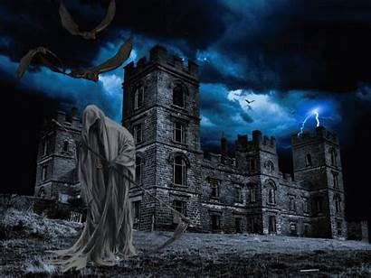 Vampire Fantasy Grim Castle Dark Ghost Background