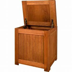 Banc Coffre Bois : coffre de rangement banquette en bois exotique ~ Teatrodelosmanantiales.com Idées de Décoration