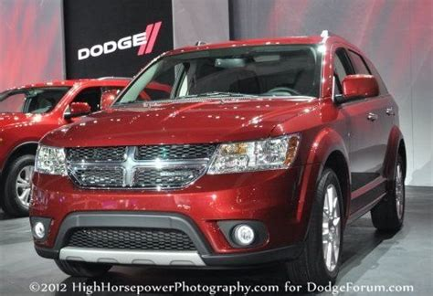 Fiat Buys Dodge by Dodge Journey Flourishing Overseas As Fiat Freemont