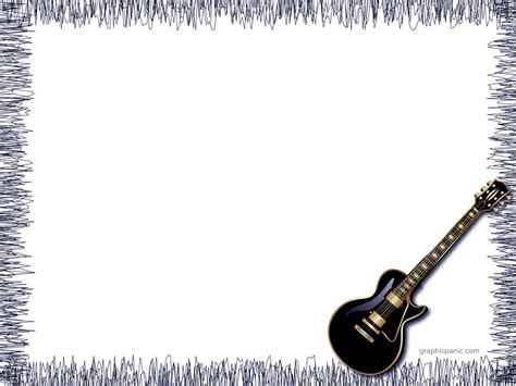 guitar powerpoint background powerpoint background