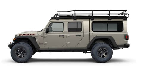 jeep gladiator canopy rack roof camper overland tops expedition custom jeepgladiatorforum vehicle racks toppers possibilities covers would lj build reasonable