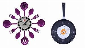 15 Excellent Designs of Kitchen Wall Clocks Home Design
