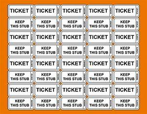 3 printable raffle ticket template teknoswitch for Free template for raffle tickets with numbers