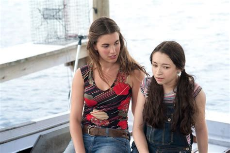 Rainey Qualley and Jodelle Ferland in