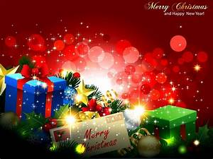 merry christmas and happy new year wallpaper 2017 ...