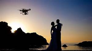 camera in the sky using drones in wedding photography and With best drone for wedding photography