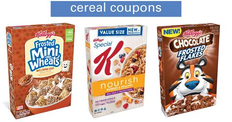 kelloggs coupons cereal   southern savers