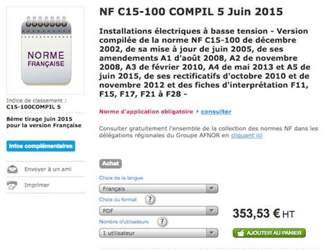 nfc 15 100 cuisine nfc 15 100 devenez incollable sur la norme électrique