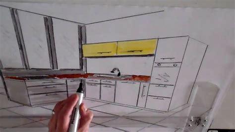 dessin d une cuisine cuisine un d dessin simple point ligne perspective d 39 une