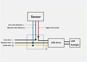 Wiring A Security Light Diagram