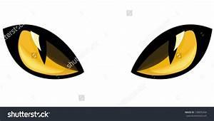 Cartoon Cat Face Eyes Clip Art (65+)