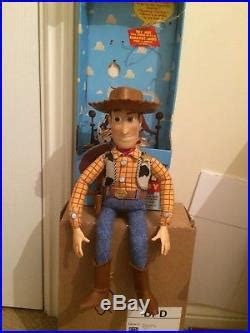 toy story st edition woody doll  toy story woody doll