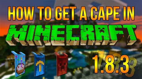 How To Get A Cape In Minecraft  183+ Super Easy & Quick