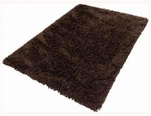 Hochflor Teppich Braun : teppich shaggy hochflor teppich 80x150 cm schocko braun ~ Orissabook.com Haus und Dekorationen