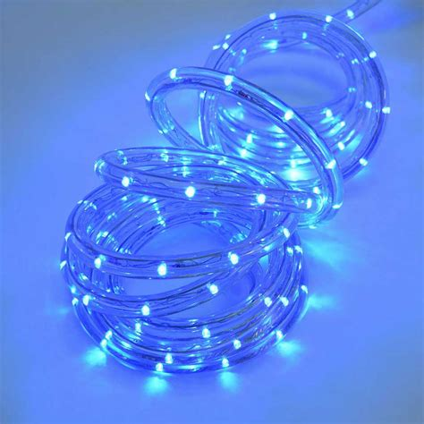 blue rope lights 18 led rope light multi color ropelights