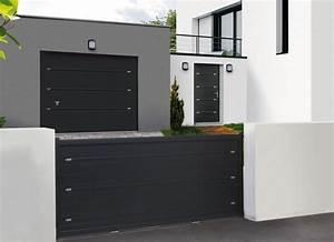 Portail et cloture montpellier nimes avignon partner for Porte de garage coulissante et porte maison