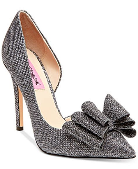 betsey johnson prince dorsay evening pumps evening