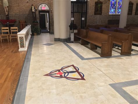 Church Tile & Marble Floors   Artech Church Interiors