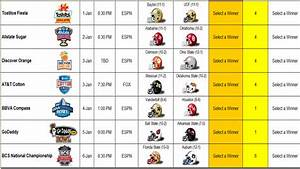 The Cyclone Edition: 2013 College Football Bowl Prediction ...
