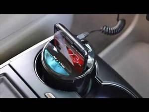 Handyhalterung Auto Wireless Charging : iloome qi vehicular wireless charger cup holder type ~ Kayakingforconservation.com Haus und Dekorationen