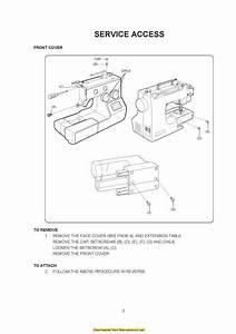 Janome 5812 Sewing Machine Service
