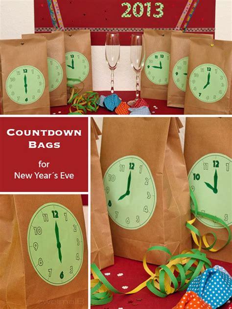 zweimalb countdown bags sorgen f 252 r spannende zu silvester mit kindern silvester