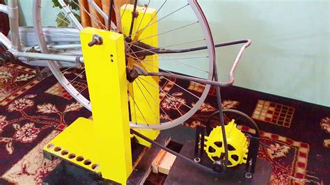 energy generator homemade  attached  bicycle