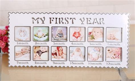 First  Ee  Year Ee    Ee  Baby Ee   Photo Frame Groupon Goods