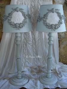 Shabby Chic Lampe : 25 best ideas about shabby chic lamps on pinterest candlesticks flower lampshade and shabby ~ Eleganceandgraceweddings.com Haus und Dekorationen