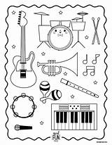 Coloring Instruments Musical Printable Instrument Orchestra Worksheets Kindergarten Class Xylophone Nod Preschool Kiddos Lds Themed Lessons Primary Band Musik Getcolorings sketch template