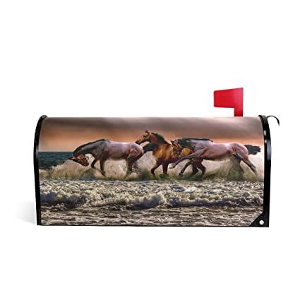 amazon  mailbox covers animals horse easter magnetic