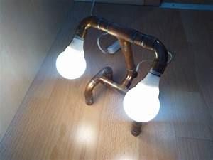 Lampe Aus Kupferrohr : steampunk lightvision make it now ~ Frokenaadalensverden.com Haus und Dekorationen