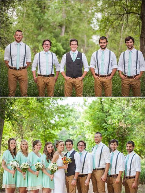 mint  lace wedding  denver groom  groomsmen