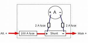 Ammeter Shunt Wiring Diagram For Alternator