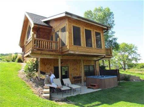 cabin rentals in iowa the lorelei cabins not just a place but an experience