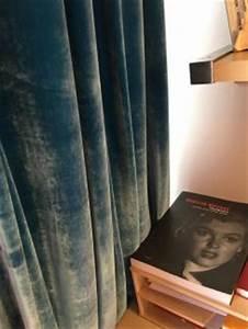Rideaux Velours Bleu : rideaux et voilages couture d 39 ameublement ~ Teatrodelosmanantiales.com Idées de Décoration