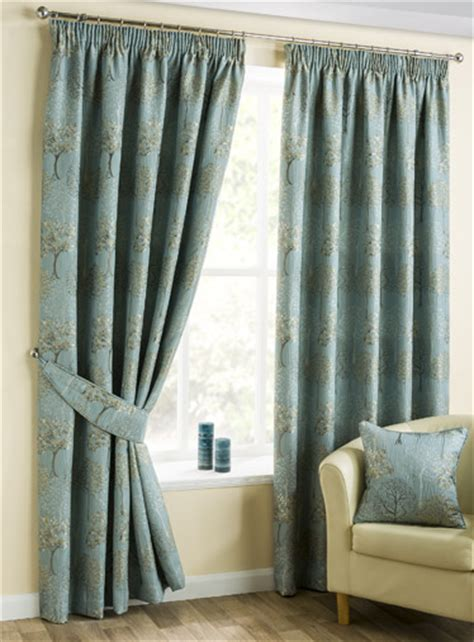 arden duckegg pencil pleat luxury ready  curtains
