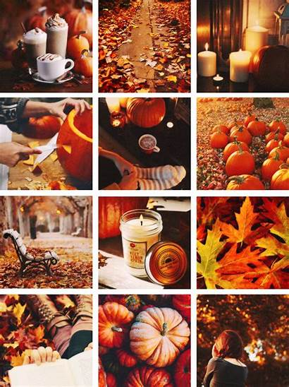 Autumn Fall Hello Collage Halloween Horror Things