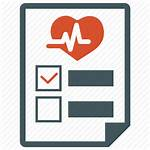 Icon Medical Report Health Diagnosis Test Healthcare