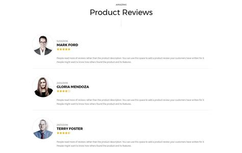 product review template product review template images professional report template word