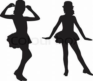 Child Ballerina Silhouette Clip Art | www.imgkid.com - The ...