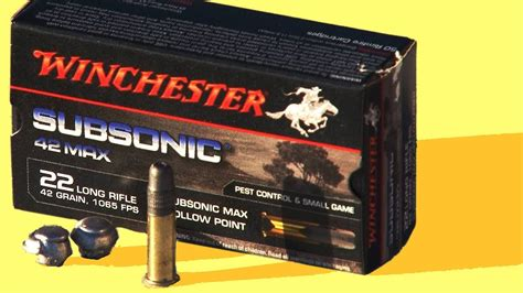 winchester max subsonic  powerpoint supersonic review