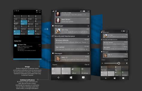 new windows 10 mobile concept adds fluent design mspoweruser