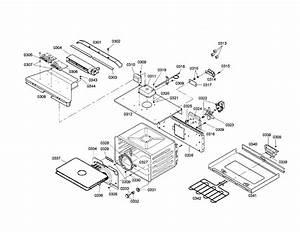 Upper Cavity Diagram  U0026 Parts List For Model Hbn5055auc01