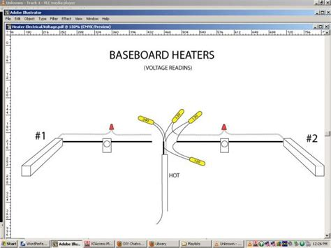Electric Heat Wiring by Baseboard Heater Wiring Doityourself Community Forums