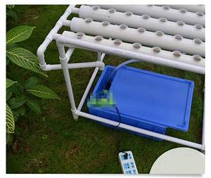 2019 Diy Hydroponics System Nft With 8 Tubes Of Net Cup