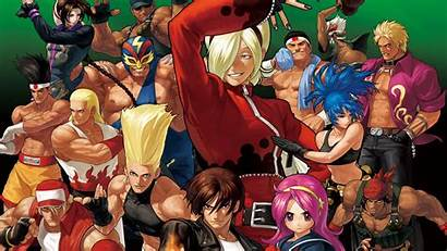 Fighters King Xii Wallpapers Kof Artwork Wallpapertag