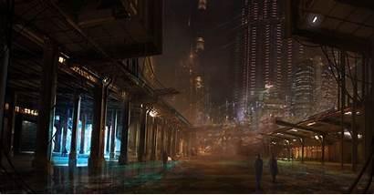 Cyberpunk Wallpapers Deviantart Tryingtofly Route Sci Fi