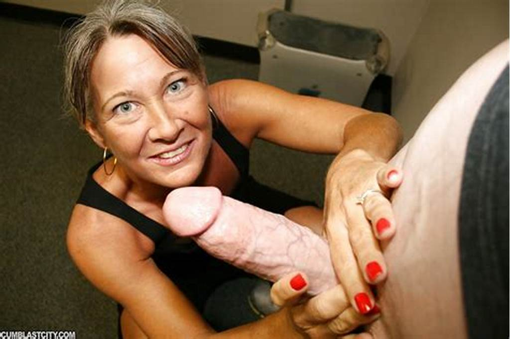 #Naughty #Granny #Jerking #Off #A #Big #Cock #And #Getting #A #Facial