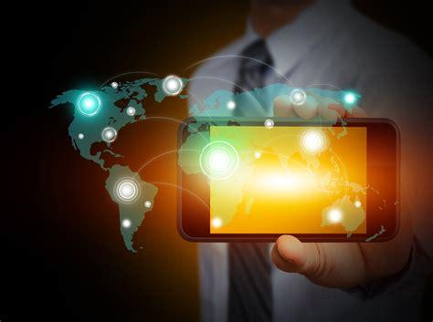 technology fingers digital art internet men world map